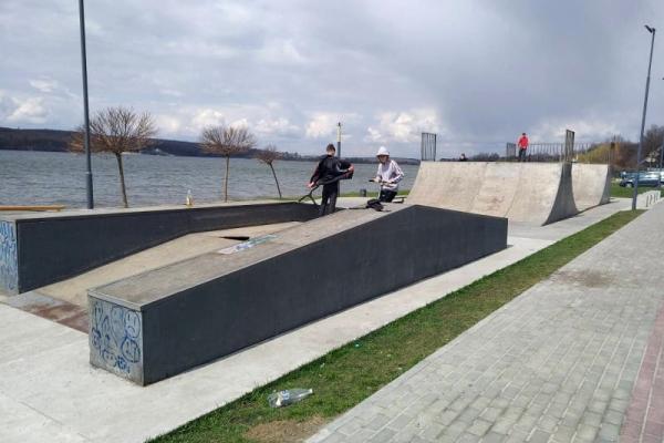 Тернопіль: на «Циганці» капітально відремонтують скейт-парк