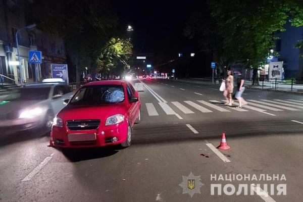 У Тернополі ДТП: під колесами авто опинився п'яний пішохід
