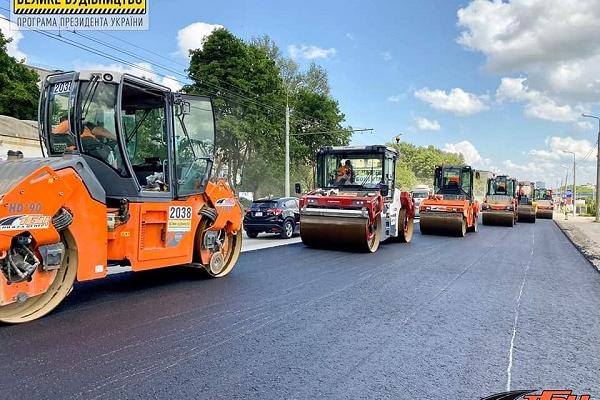Додатково виділили 350 млн грн на ремонт об'їзної дороги Тернополя