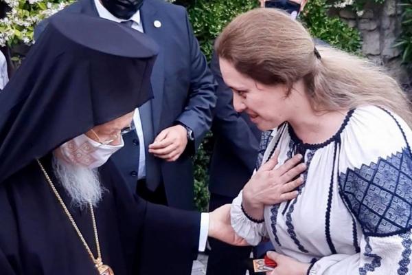 Тернопільська «Зоринка» співала для Вселенського Патріарха