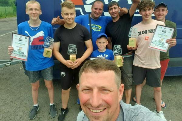 Тернополяни стали призерами Чемпіонату України з картингу «Rotax Max 2021»