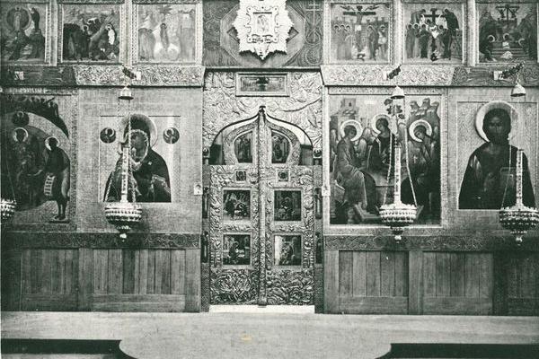 Троїцький собор в Почаєві на фото 1912 року