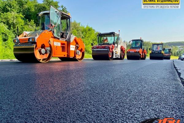 «Велике будівництво»: тривають ремонтні роботи на об'їзній дорозі Тернополя