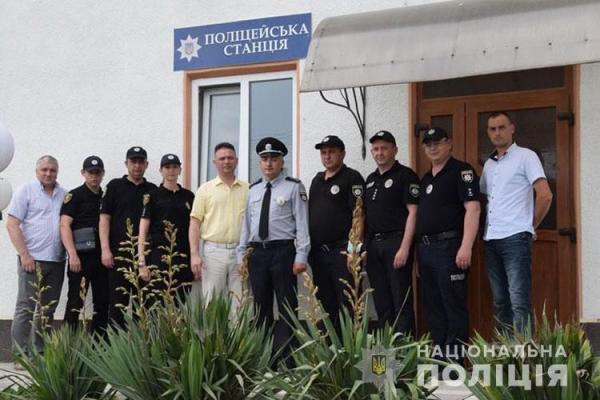 На Тернопільщині відкрили ще дві поліцейські станції