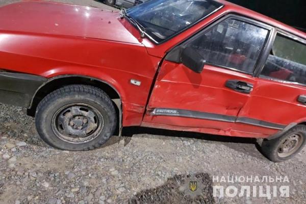 Аварія на Теребовлянщині: водієві стало погано і він з'їхав у кювет
