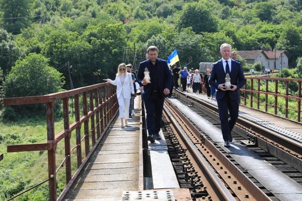 На Тернопільщині вшанували пам'ять жертв Заліщицької трагедії