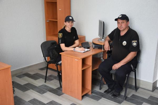 У селі Біла на Чортківщині відкрили поліцейську станцію