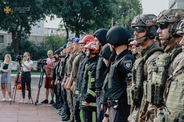 «Firefighter Combat Challenge»: у Тернополі відбулися спортивні змагання