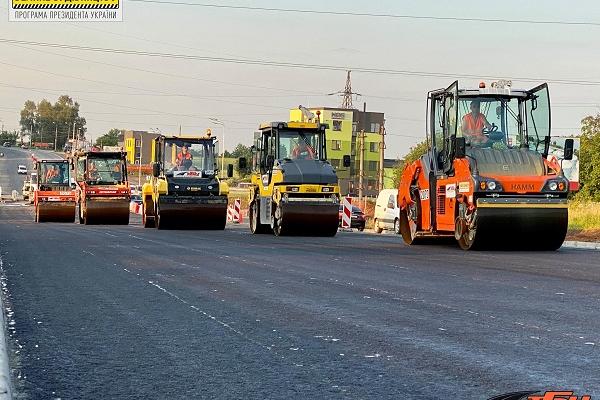 Дорога Єдності: у Тернополі продовжують ремонт автошляху
