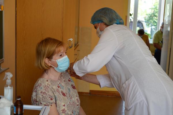 У Чорткові відрили пункт вакцинації