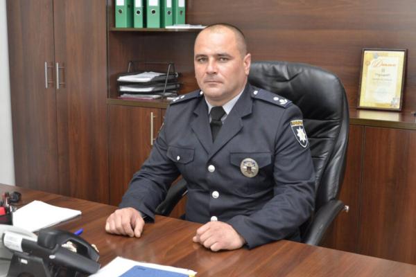 У місті Борщів призначили нового начальника поліції