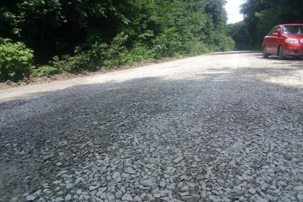 Дорогу «Бережани-Вільховець» на Тернопільщині почали ремонтувати