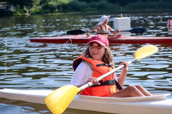 «Опілля» долучилося до проведення змагань юних спортсменів на байдарках та каное