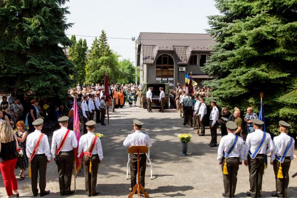 Тернопільщина попрощалася із загиблим військовим Володимиром Яськівим