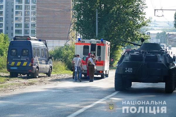 Тернопільські поліцейські за кілька годин розкрили розбіний напад з застосуванням вибухівки
