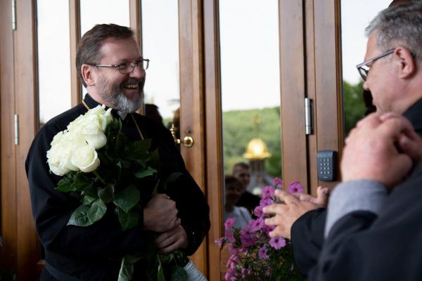 До Тернопільщини прибув Глава Української греко-католицької церкви Блаженніший Святослав