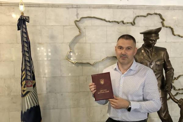 Андрій Палюх здобув науковий ступінь Доктора юридичних наук