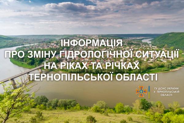 На Тернопільщині очікується паводок