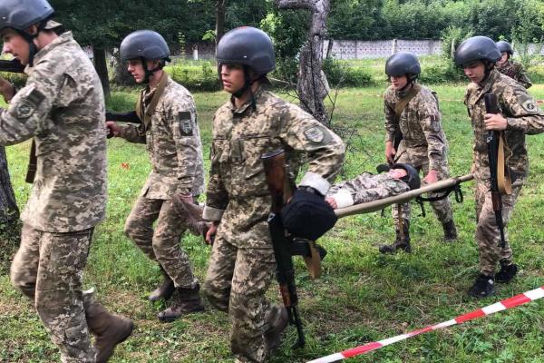 Команда з Тернопільщини виборола перемогу на Всеукраїнській військово-патріотичній грі