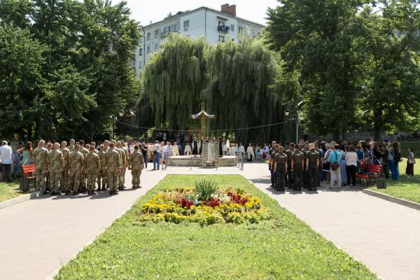 У Тернополі відзначили 1033 річницю Хрещення Київської Русі-України