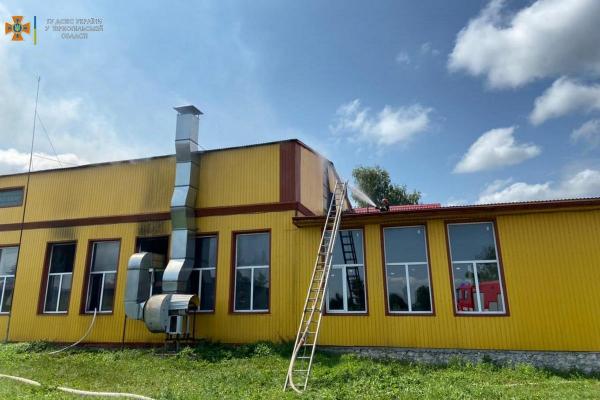 На території одного із підприємств Тернопільщини виникла пожежа