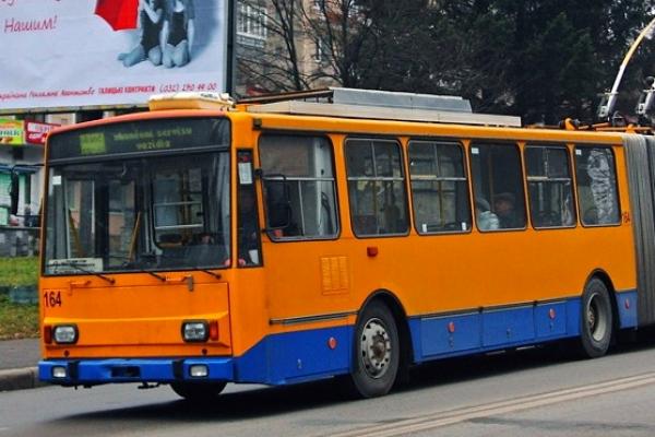 Тернопіль: у районі «Збаразького кільця» тимчасово припинять рух тролейбусів