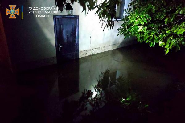 На Тернопільщині рятувальники ліквідовували наслідки вчорашньої негоди