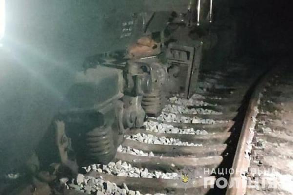 На Тернопільщині комісія встановлює причини сходження з рейок потяга «Рахів-Київ»