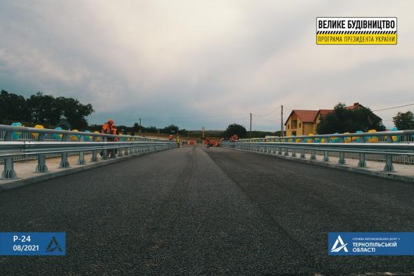 В селі Лисівці над річкою Серет з «нуля» звели міст довжиною 64 метри