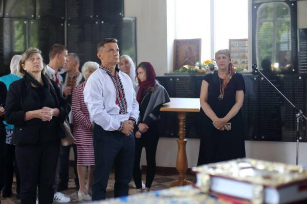 У Лішні на Кременеччині відбулася Всеукраїнська проща родин загиблих у російсько-українській війні