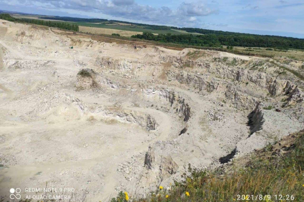 На Тернопільщині знищили геологічну пам'ятку «Останці Сарматського моря»