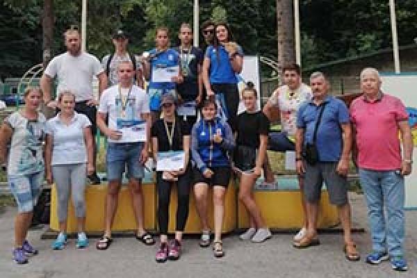На Тернопільщині відбулися міжнародні та всеукраїнські змагання на санкороликах