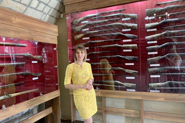 Поповнення зброярні у Збаразькому замку