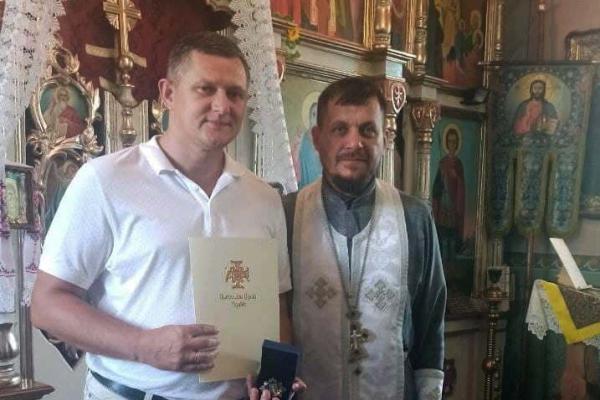 Михайла Тимошика нагороджено орденом святого Архистратига Михаїла ІІ ступеню