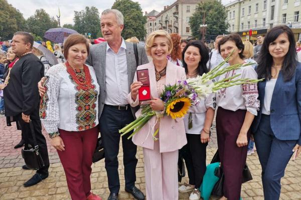 Очільниця департаменту охорони здоров'я Тернопільської ОДА отримала звання «Заслужений лікар України»