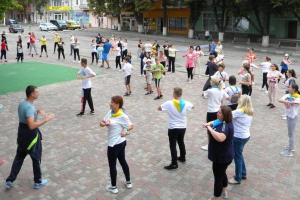 На Тернопільщині відбувся благодійний марафон