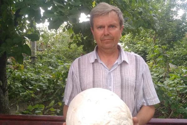 «Не повірив, що то гриб»: тернополянин поділився світлиною знахідки