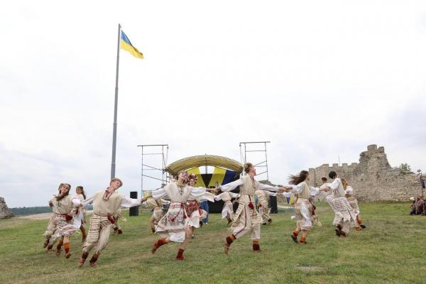 На Замковій горі у Кременці встановили рекорд (фото)