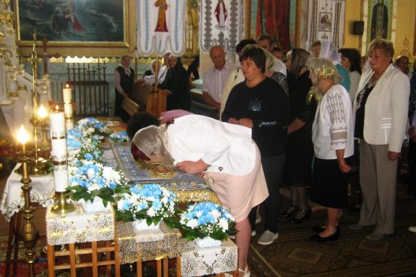 Успіння Пресвятої Богородиці в Теребовлянській ПЦУ, що на Тернопіллі (фото, відео)