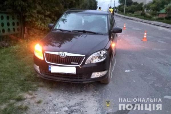На Тернопільщині під колеса автомобіля потрапила 11-річна дитина