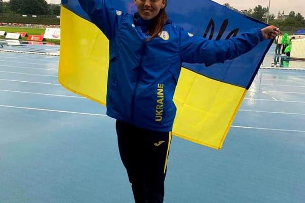 Тернопільська спортсменка здобула срібну медаль на Чемпіонаті світу з легкої атлетики