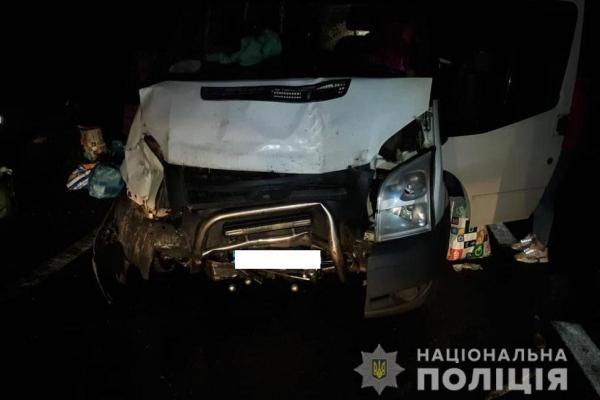 На Тернопільщині ДТП: не розминулися чотири автомобілі