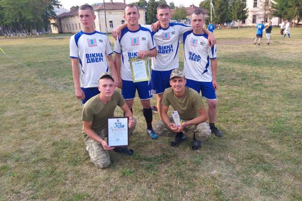У військовій частині у Чорткові відбувся турнір з футболу до Дня Незалежності України