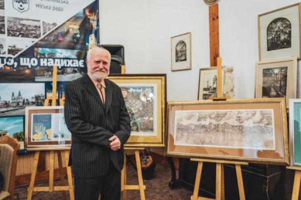 «Тернопіль – місто, що надихає»: просто неба відкрили унікальну виставку