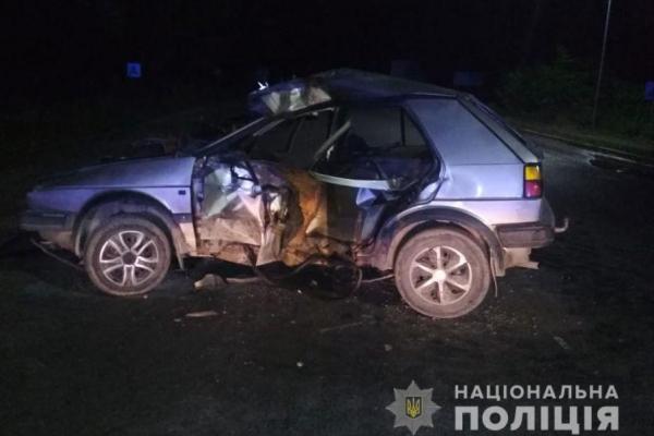 На Тернопільщині ДТП: 19-річний водій загинув на місці