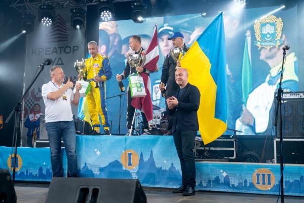 У Тернополі нагородили призерів етапів чемпіонату світу з водно-моторного спорту