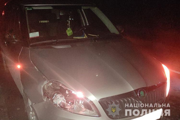 У Залізцях водій автомобіля Skoda наїхав на чоловіка. Потерпілий з травмами госпіталізований