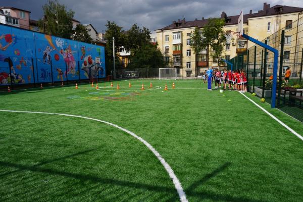 «Велике будівництво»: у Тернополі відкрили сучасний мультиспортивний комплекс
