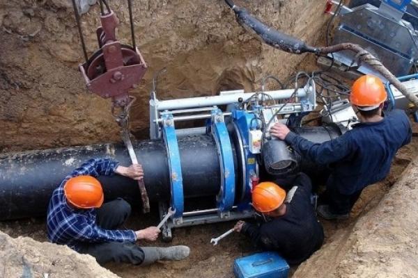У Чорткові замінюють старі водопровідні мережі