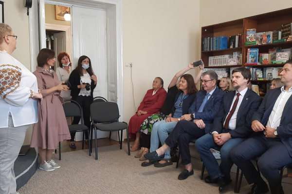 Зорепад  аудіоказок презентували у бібліотеці-музеї «Літературне Тернопілля»